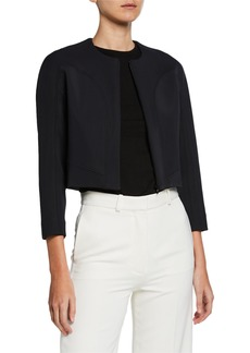 Zac Posen Zip-Front Cropped Jacket