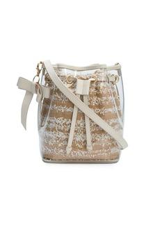ZAC Zac Posen bow-charm drawstring bucket bag
