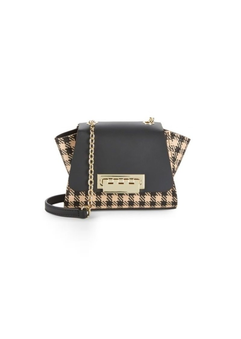 ZAC Zac Posen Eartha Checkered Leather Mini Crossbody Bag