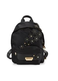ZAC Zac Posen Eartha Floral-Embellished Backpack