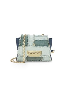 ZAC Zac Posen Eartha Fringed Leather Mini Crossbody Bag