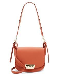 ZAC Zac Posen Eartha Iconic Leather Saddle Bag