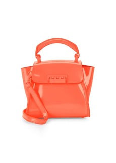 ZAC Zac Posen Eartha Iconic Leather Top Handle Bag