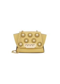 ZAC Zac Posen Mini Eartha Embellished Leather Satchel