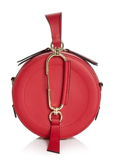 ZAC Zac Posen Belay Small Round Leather Wristlet