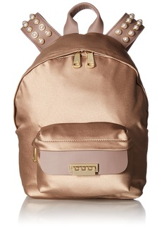 ZAC Zac Posen Eartha Iconic Small Backpack-Satin and Pearls