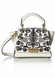 ZAC Zac Posen Eartha Novetly Printed Soft Mini Top Handle