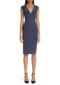 ZAC Zac Posen Joni Body-Con Sheath Dress