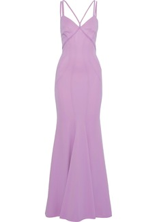 Zac Zac Posen Woman Cady Gown Lavender