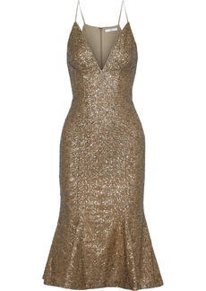 Zac Zac Posen Woman Robin Sequined Tulle Dress Gold