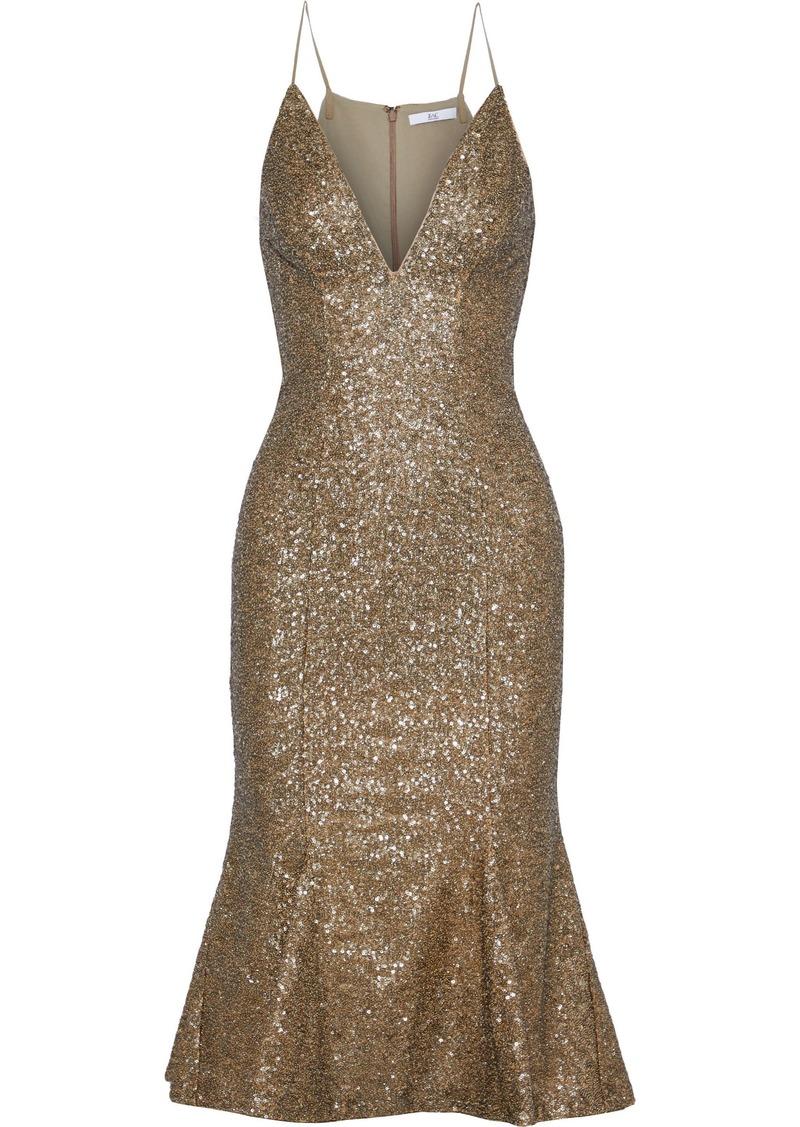 Zac Zac Posen Woman Robin Sequined Tulle Dress Gold