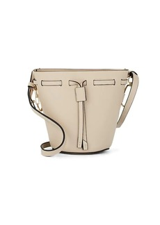 ZAC Zac Posen Women's Belay Mini Leather Bucket Bag - Neutral