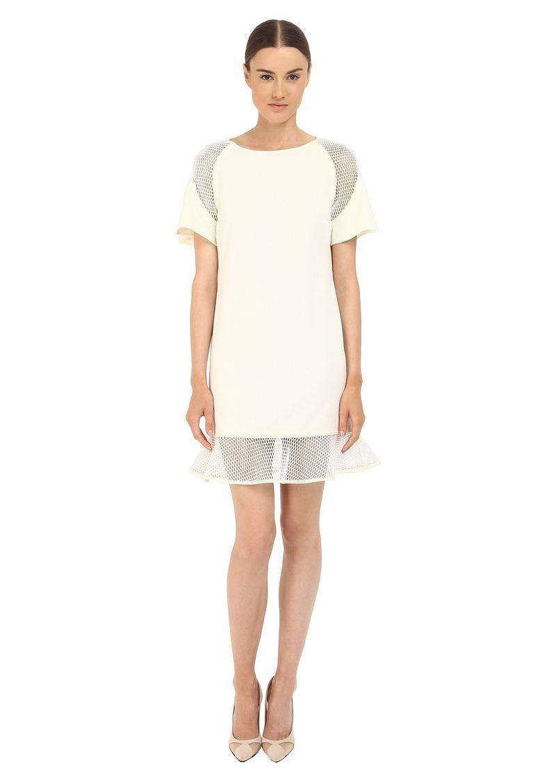 ZAC Zac Posen Women's Toddy Dress Off- Off-White
