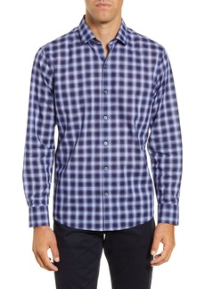 Zachary Prell Alessandro Regular Fit Plaid Button-Up Shirt