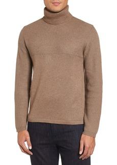 Zachary Prell Mix Stitch Turtleneck Sweater