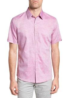 Zachary Prell Wilcox Short Sleeve Slim Fit Shirt