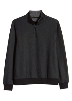 Zachary Prell Braemore Fleece Lined Quarter Zip Pullover