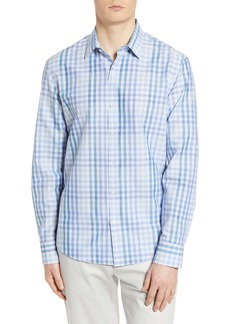 Zachary Prell Coe Regular Fit Check Button-Up Shirt