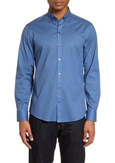 Zachary Prell Egan Regular Fit Button-Down Performance Shirt