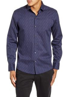 Zachary Prell Fiouris Regular Fit Button-Up Shirt
