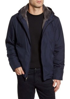 Zachary Prell Glasgow Faux Fur Lined Jacket