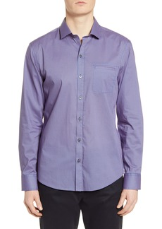 Zachary Prell Grimes Classic Fit Button-Up Shirt