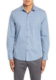 Zachary Prell Harrigan Regular Fit Check Button-Up Shirt