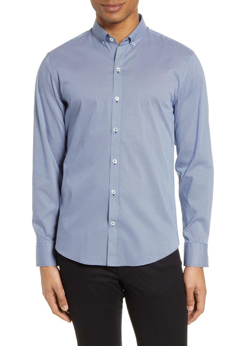 Zachary Prell Noori Classic Fit Button-Down Shirt