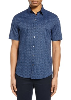 Zachary Prell Oliver Short Sleeve Button-Up Shirt