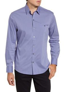 Zachary Prell Ozekin Regular Fit Check Button-Up Sport Shirt