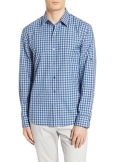 Zachary Prell Plaid Button-Up Shirt