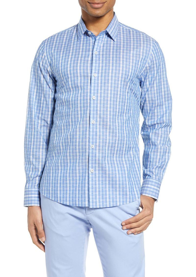 Zachary Prell Sabin Fil Coupé Button-Up Shirt