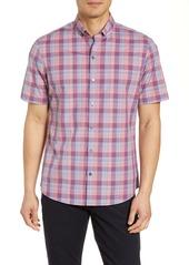 Zachary Prell Sutherland Regular Fit Plaid Shirt