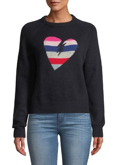Zadig & Voltaire Baly Graphic Cashmere Pullover Sweater