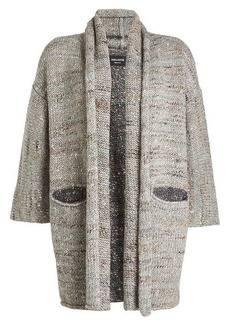 Zadig & Voltaire Cardigan with Wool, Alpaca, Silk and Mohair