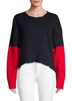 Zadig & Voltaire Clarys Colorblocked Wool Sweater