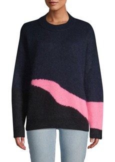 Zadig & Voltaire Contrast-Trim Ribbed Sweater