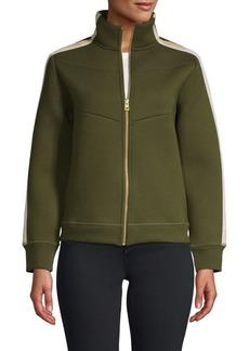 Zadig & Voltaire Cosy Neo Metallic Stripe Jacket