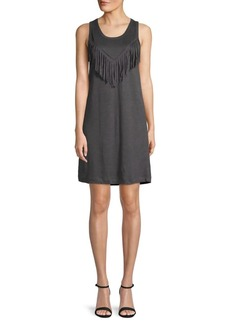 Zadig & Voltaire Country Fringes Linen Dress
