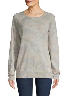 Zadig & Voltaire Crisp-Print Cashmere Sweater