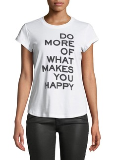 Zadig & Voltaire Do More Graphic Slim Tee
