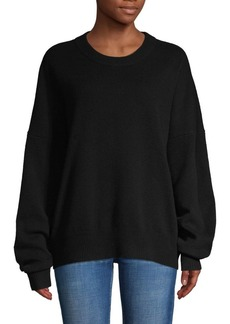 Zadig & Voltaire Dropped-Shoulder Wool & Cashmere-Blend Sweatshirt