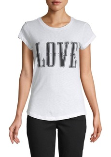 Zadig & Voltaire Graphic Cotton-Blend Tee