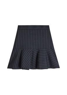 Zadig & Voltaire Joe Striped Wool Skirt