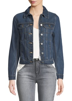 Zadig & Voltaire Kioky Embroidered Denim Jacket