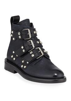 Zadig & Voltaire Laureen Spike Combat Boots