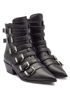 Zadig & Voltaire Libra Leather Ankle Boots