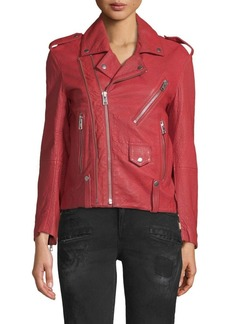 Zadig & Voltaire Liya Leather Jacket