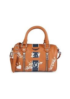Zadig & Voltaire Mini Love Leather Top Handle Bag
