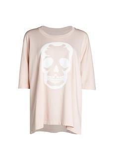 Zadig & Voltaire Portland Skull Graphic Oversized T-Shirt